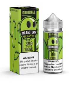 Air Factory Vape Juice, Wild Apple vape juice