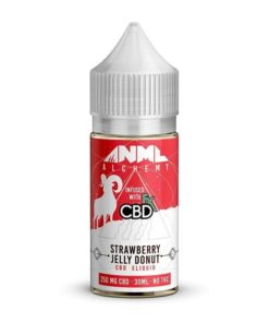 Anml Alchemy Vape Juice Strawberry Jelly Donut Flavour