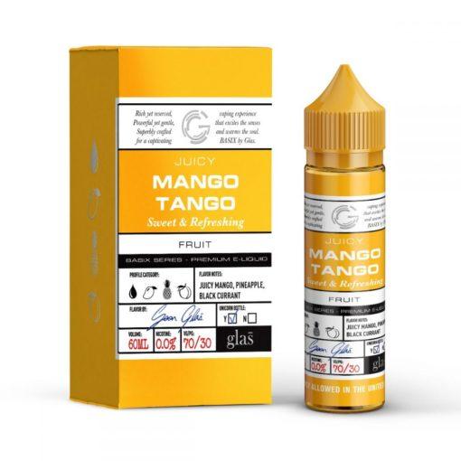 glas basix, cool mango vape juice