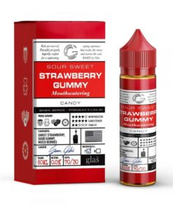 glas basix, strawberry blast vape juice