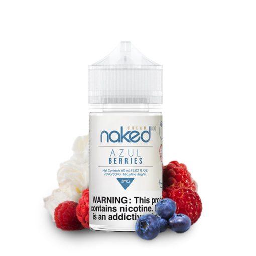 naked 100 cream, azul berries vape juice