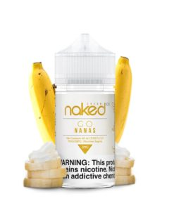 naked 100 cream, go nanas vape juice