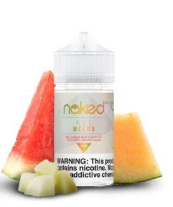 naked 100 fruit, all melon vape juice