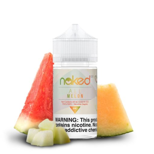 naked 100 fruit, all melon vape juice