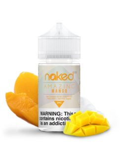 naked 100 fruit, amazing mango vape juice