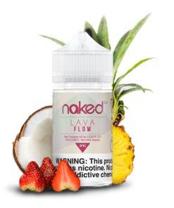 naked 100 fruit, lava flow vape juice