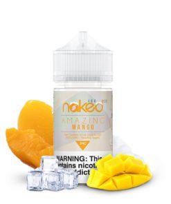 naked 100 ice, amazing mango vape juice