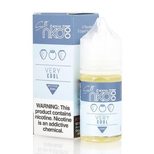naked 100 salts, very cool vape juice
