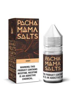 pachamama salt, sorbet