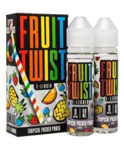 twist, fruit twist, tropical pucker punch vape juice