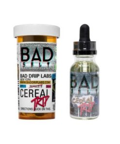 bad drip, salt, cereal trip vape juice