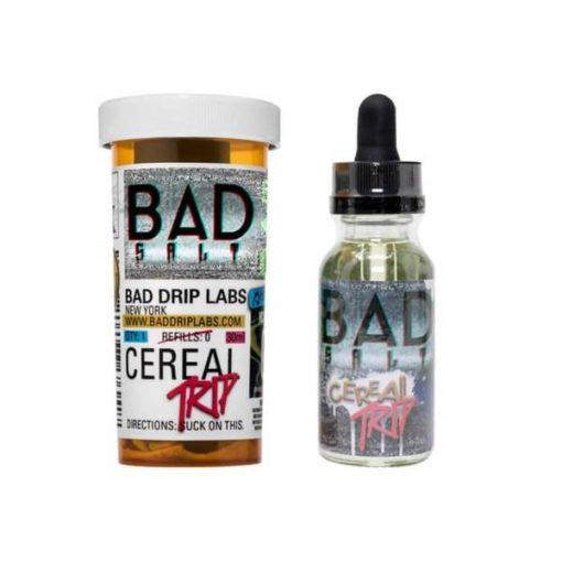 bad drip, salt, cereal trip vape juice