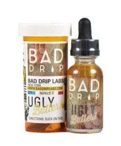 bad drip, salt, ugly butter vape juice