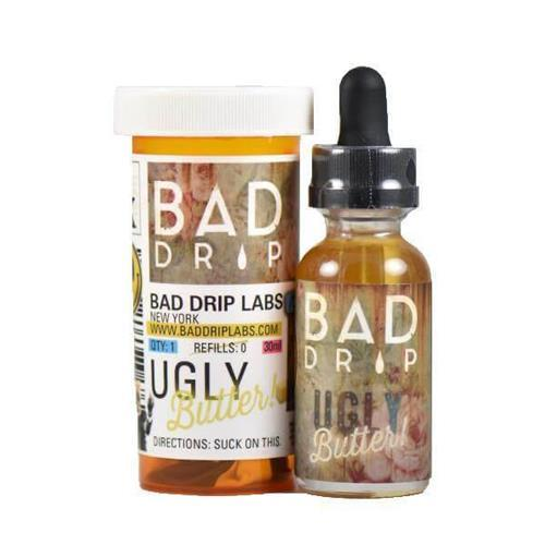 bad drip, salt, ugly butter vape juice