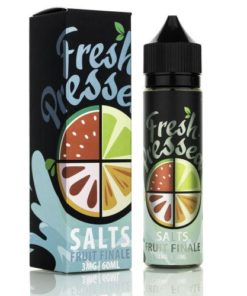 fresh pressed, sub ohm, salts, fruit finale